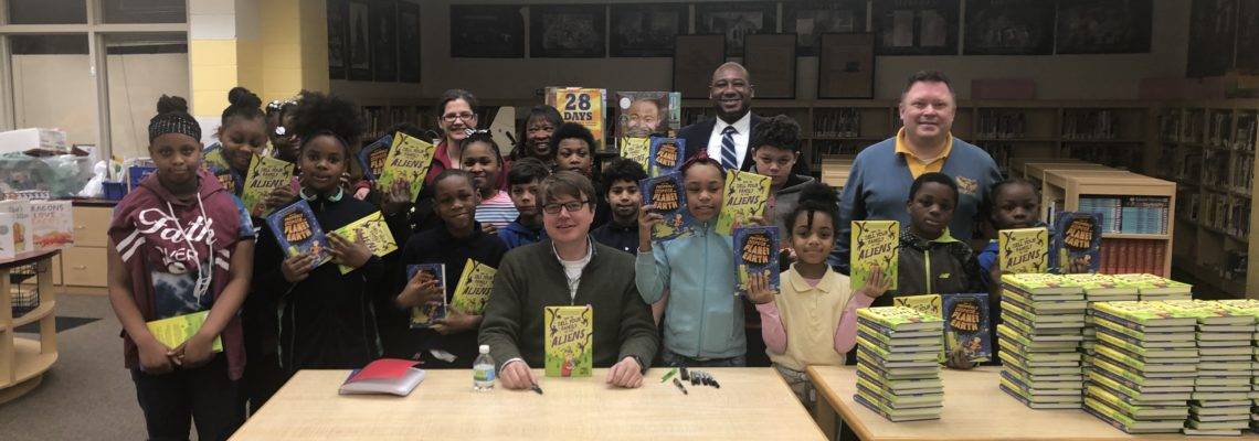 Author Paul Noth Visits MPS Students